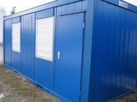 20' office cabins ( 6m x2,5m )